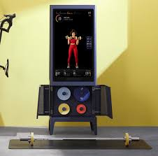 its 1995 all in one home fitness studio