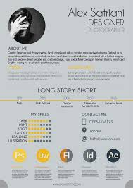 Example Of Graphic Design Cv 59 Infographic Resume Ideas For Examples Graphic Design Cv