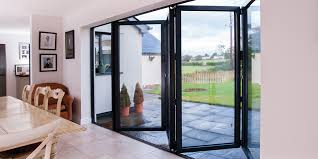 all bi folding doors within the real aluminium range have the option of either low thresholds for unimpeded easy access or rebated thresholds that offer