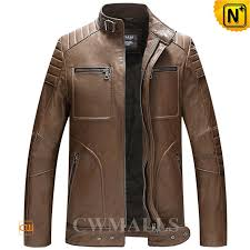 washed leather moto jacket cw806030 cwmalls com