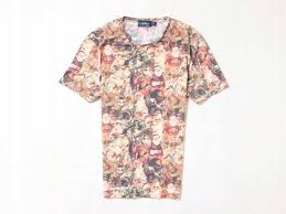 Topman Shirt Size Chart Details About A Topman Mens T Shirt Cotton Pattern Size S