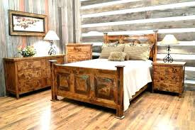 Rustic King Size Bed Frame Rustic King Size Bedroom Sets Rustic King ...