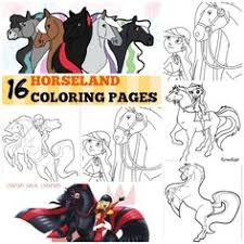 Small Picture horseland coloring pages Bing Images Kids Crafts Pinterest