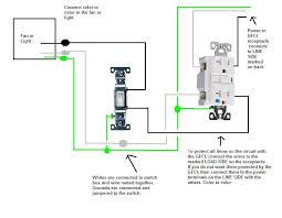 breathtaking wiring diagram for gfci receptacle wiring diagram for how to wire a gfci outlet with a light switch at Wiring Diagram For Gfci Receptacle