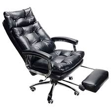 Office reclining chair High Back 5 Coz Executive High Back Reclining Napping Office Chair With Footrest Arcticoceanforever 10 Best Office Chairs That Recline For Naps 2018 Guide
