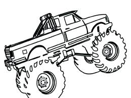 Monster Jam Grave Digger Coloring Pages At Getdrawingscom Free