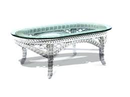 wicker cofee table medium size of white wicker coffee table with glass top best low outdoor