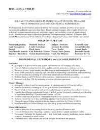 Gallery Of Sample Resume Accounting Skills Frizzigame Resume