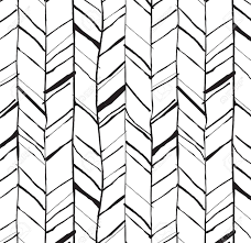 Hand drawn creative herringbone pattern, perfectly seamless composition for  print or web projects Stock Vector