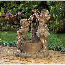 garden ideas small garden fountains ideas you