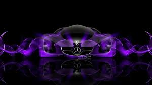 mercedes benz biome fantasy abstract car