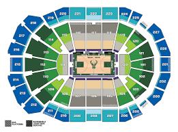Milwaukee Admirals Seating Chart 40 Inquisitive New Bucks Arena Seating Chart