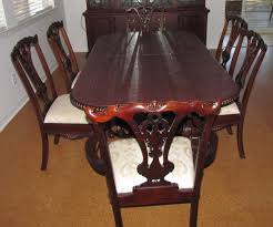 For Sale  Foot Long Mahogany Dining Room Table China Cabinet - Dining room table and china cabinet