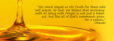 Image result for anointing oil