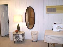 painted wood paneling interiors and design chic painted wood paneling in white color also mirror fantastic closet room with painting old wood paneling