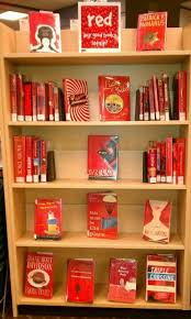 Wake County Library Wake County Public Library Display Of Red Books In February
