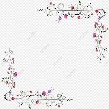 New Design Floral New Floral Design Png Free Download Frame Green Flower