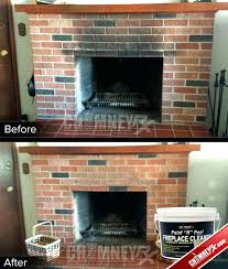 paint for inside fireplace fire resistant paint for fireplaces smoke stains on a fireplace before and paint for inside fireplace