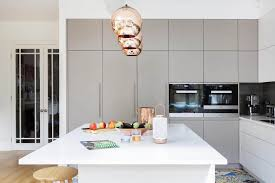 Modern Kitchen Decor a modern kitchen decor with copper lamps and nordic details 4688 by uwakikaiketsu.us