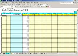 Monthly Expenses Template For Small Business Free Business Expense