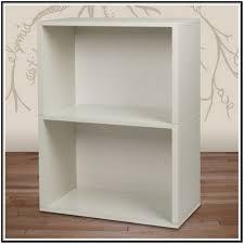 2 Shelf Bookcase White