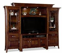 home garden wall units amish tv