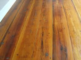 we have these type of pine floors hidden under carpeting in our new home and hoping we can refinish them to their natural er like this