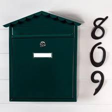 visit locking wall mount mailbox