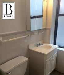 apartment therapy bathroom colors. keeping colors calm: a beautifully neutral bathroom makeover | apartment therapy m