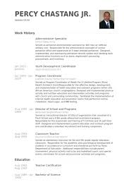 Mission Support Specialist Resume Sample After 2 Office - Shalomhouse.us