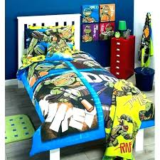 Ninja Turtles Comforter Set Twin Teenage Mutant Turtle Bedding ...