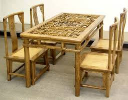 dining room stylish dining room bamboo dining table ererdvrlistscom intended for bamboo dining table and chairs amazing bamboo furniture design ideas