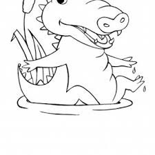 Small Picture Baby alligator coloring pages