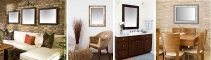 custom mirrors framed wall mirror for