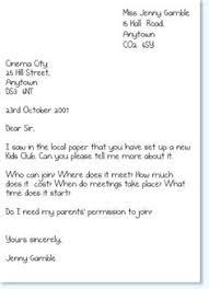 formal handwritten letter format kids formal letter formal letter writing formats for kids it is