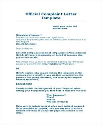 letters of complaints samples official complaint letter sample  letters of complaints samples official complaint letter sample complaint letters examples poor service