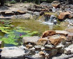 diy patio pond: landscaping outdoor decorating diy pond filter ideas for small and