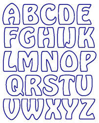 Letter Stencils To Print And Cut Out Alphabet Template Rome Fontanacountryinn Com