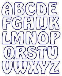 Printable Letter Templates Applique Letter Templates Free Google Search Appliques Letras