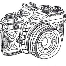 Small Picture Tribal Camera in Photography Coloring Page Coloring Sky
