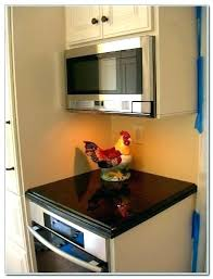 Microwave Cabinet Dimensions Under Awesome The  Image Of In With26