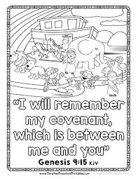 Small Picture Noahs Ark Preschool Printables