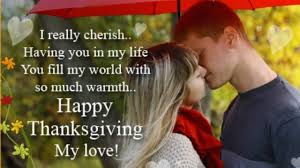 Thanksgiving Love Quotes For Her Thank You Sayings