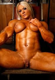Women bodybuilder nude pic