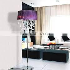 modern contemporary crystal chandelier floor lamps led standing floor light for home hotel decor fl025
