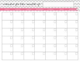 monthly calenar calendar