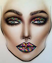 421 best face chart make