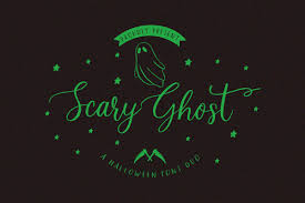 Download 10,000 fonts with one click for $19.95. Scary Ghost Font By Jimtypestudio Creative Fabrica
