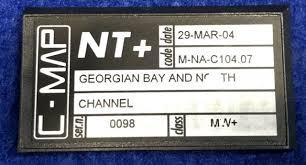 C Map Chart Cards For Sale C Map Nt Na C104 Georgian Bay North Channel Raymarine Gps Map Card Rl70 Rl80