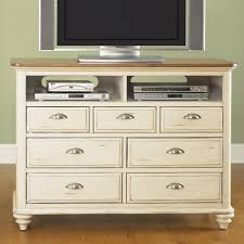 Media Chests Bedroom Liberty Furniture 303 Br45 Ocean Isle Media Chest Tv Stand Rubbed
